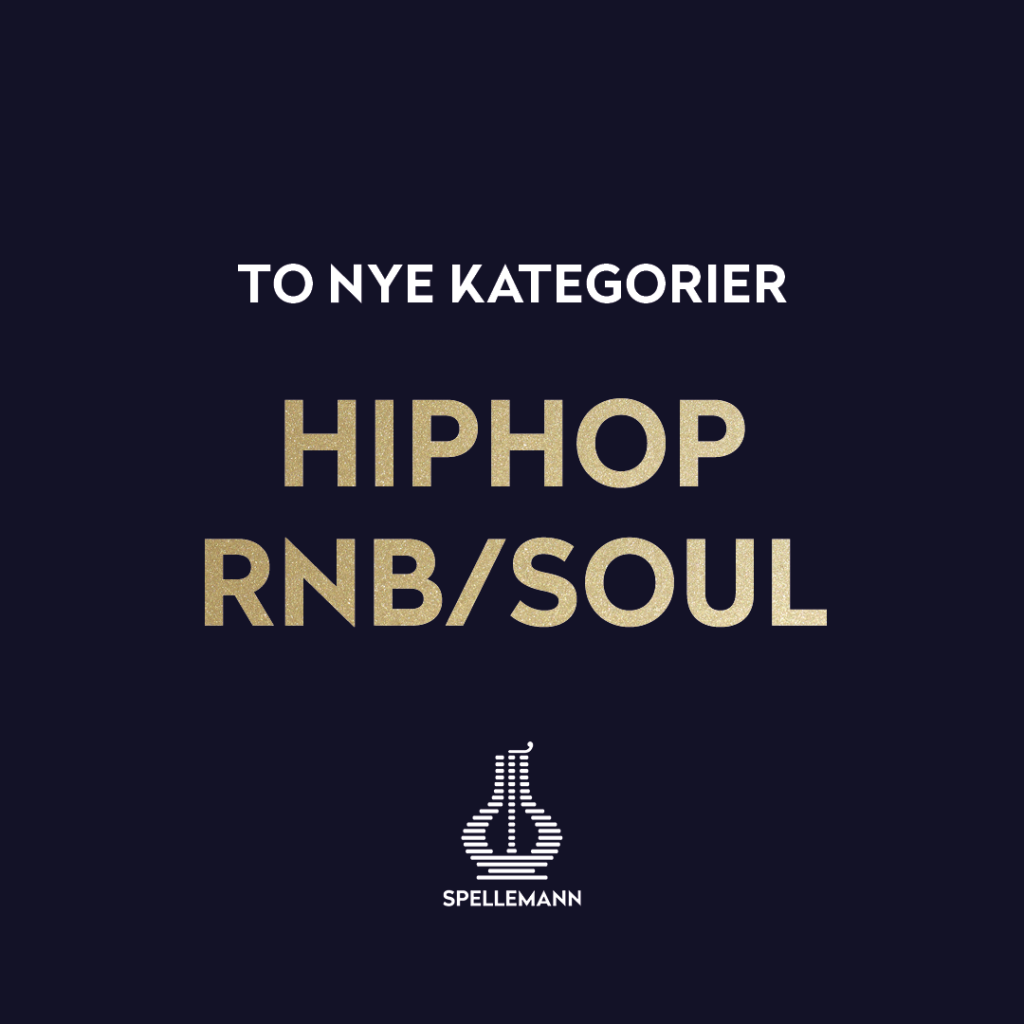 To nye kategorier: «Hiphop» og «RnB/Soul»